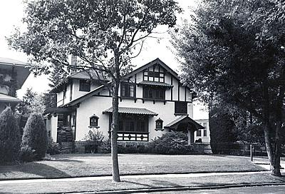 A Denver example of Craftsman architecture.