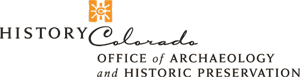 History Colorado's Office of Archaeology & Historic Preservation logo.