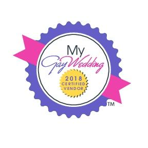 My Gay Wedding certified vendor logo