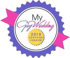 My Gay Wedding certified vendor logo